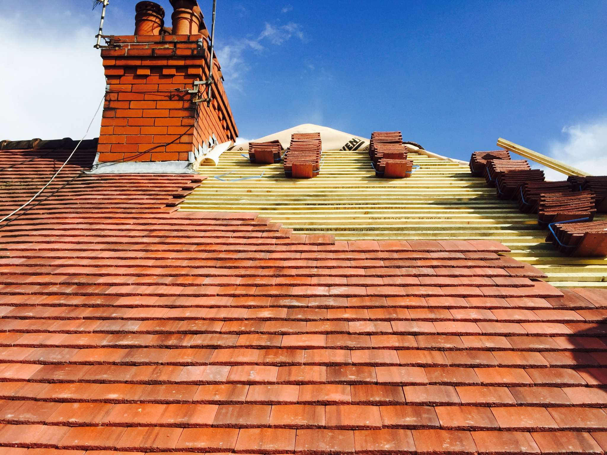 Pduckworth roofing services in middleton greater manchester marley concrete plain tile dailygadgetfo Gallery